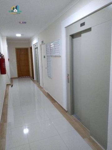 Apartamento residencial para locação, Vila Guilhermina, Praia Grande. - Foto 2