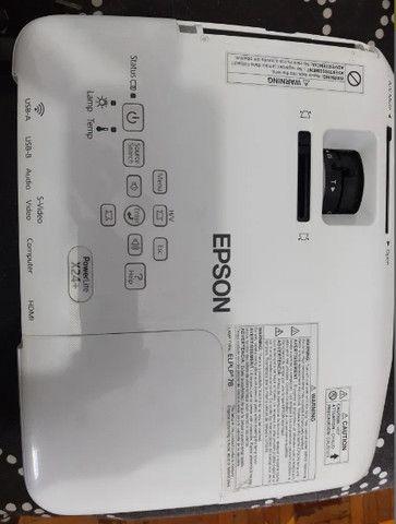 Projetor Epson X24+ - Foto 2