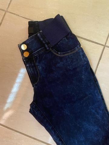 Calça jeans CLAUDIA RABELO ORIGINAL - Foto 2
