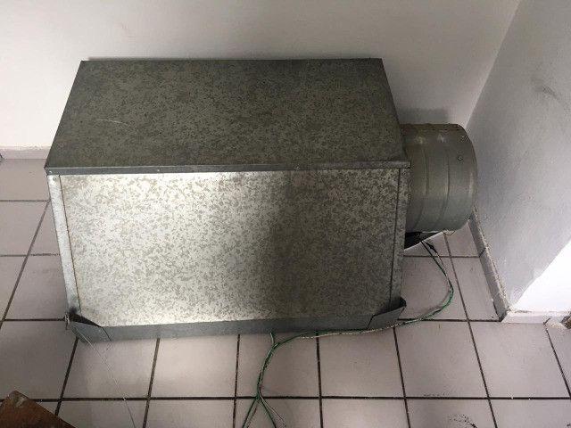 Coifa + Exaustor de 30cm Semi Novos - Foto 3