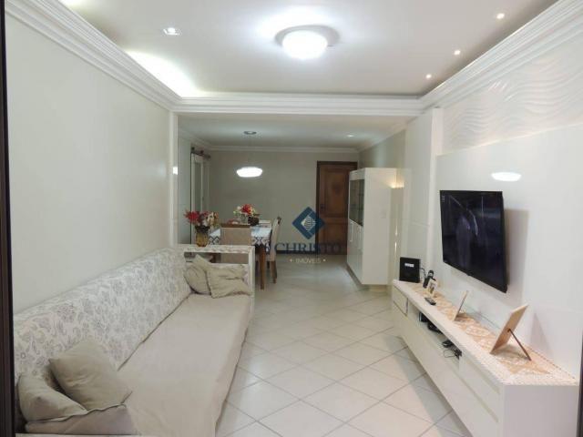 Apto com 3 Qtos à venda, 145 m² por R$ 690.000 - Praia de Itapuã. - Foto 4