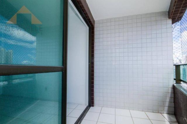 Apartamento com 3 quartos para alugar, 94 m² por R$ 3.785/mês - Boa Viagem - Recife/PE - Foto 5