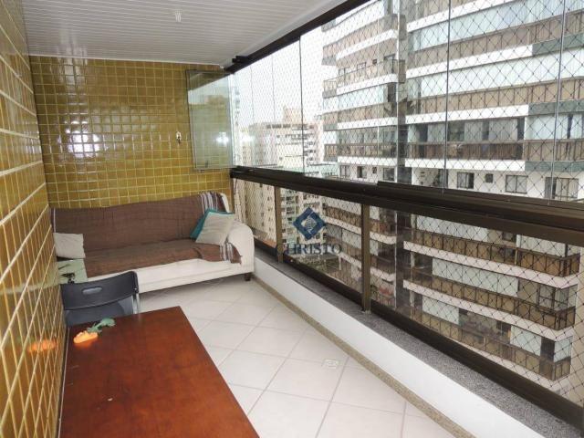 Apto com 3 Qtos à venda, 145 m² por R$ 690.000 - Praia de Itapuã. - Foto 15