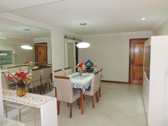 Apto com 3 Qtos à venda, 145 m² por R$ 690.000 - Praia de Itapuã. - Foto 3