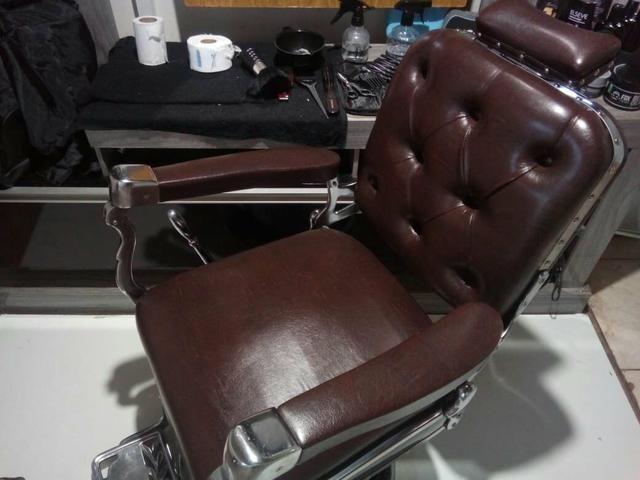 Cadeira de barbeiro Ferrante - Foto 6