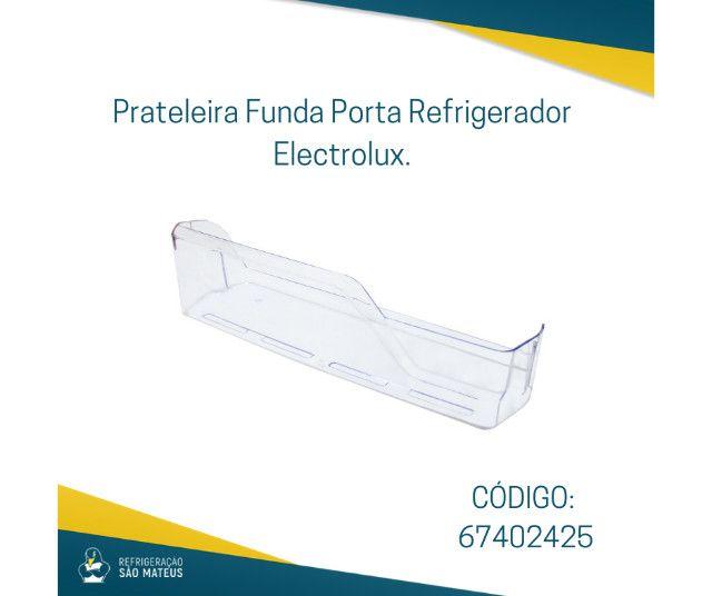 Prateleira Porta Funda Refrigerador Electrolux