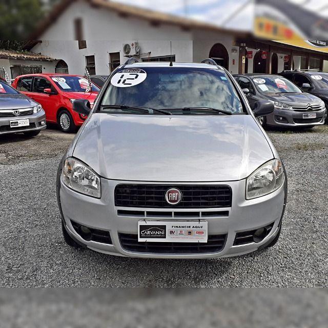 Fiat Strada Working 1.4 2012 Cabine Dupla - Foto 2