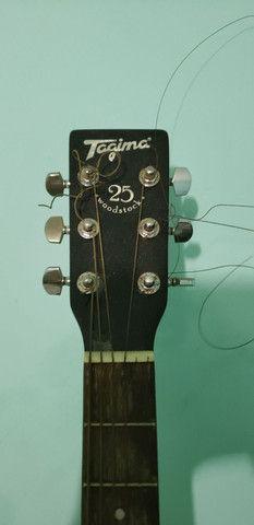 Vendo Violão Tagima TW-25 Woodstock, usado - Foto 2