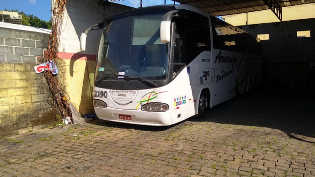 Vendo Ônibus irizar 2000/2000 46 lugares skania 124 ar condicionado executivo - Foto 14