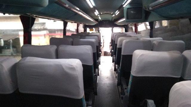 Vendo Ônibus irizar 2000/2000 46 lugares skania 124 ar condicionado executivo - Foto 6