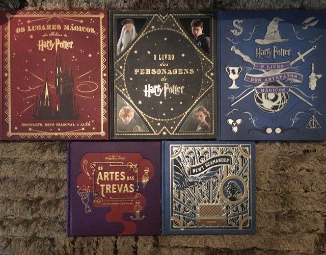 Livros universo Harry Potter