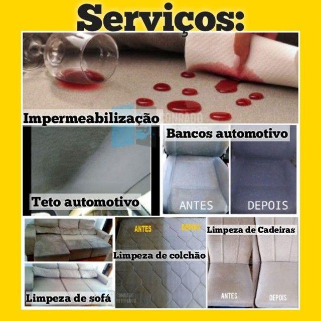 Limpeza de estofados - Sofás , Colchão , Bancos - Foto 2
