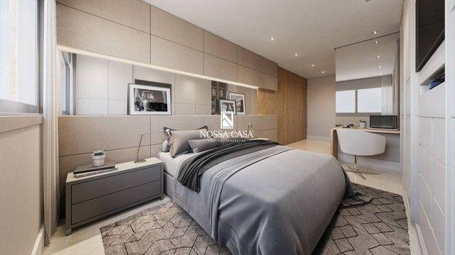 Apartamento com 03 suítes, lavabo, 02 box de garagem no Di Milano em Torres/RS - Foto 8