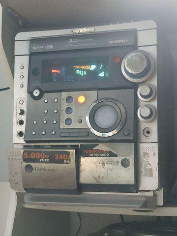 Som gradiente antigo micro syestem MP3 240rms