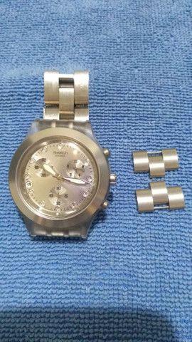 Swatch Irony Diaphane Prata - Foto 2