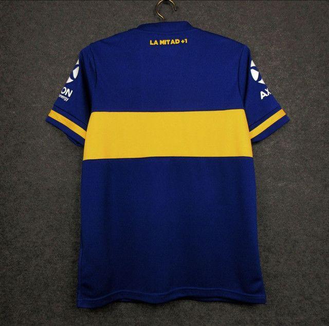Camisa Boca Juniors 20/21 Nova e na Etiqueta - Foto 2