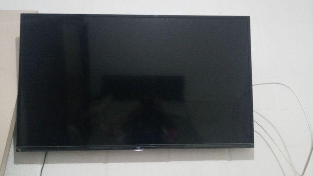 Vendo tv tcl 50 polegadas 4k nova pouco tempo de uso  - Foto 6