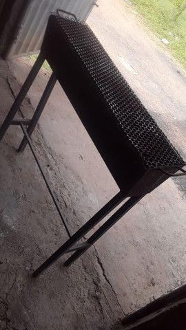 Churrasqueira , grelha inox 150$ - Foto 2