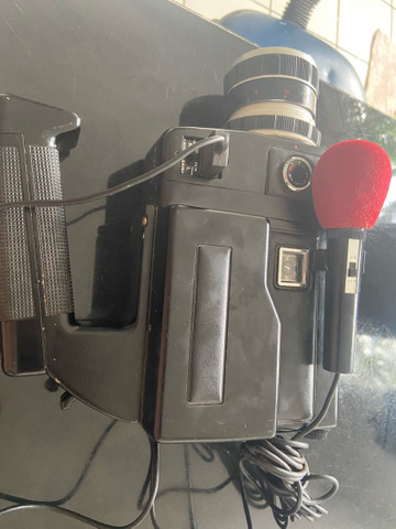Antiga filmadora magnon