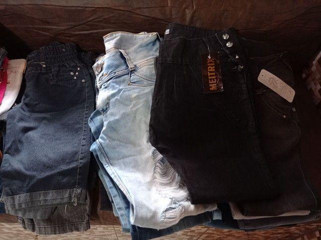 Calça jeans e shorts jeans feminina