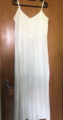 Vestido branco para ensaio ou casamento no civil