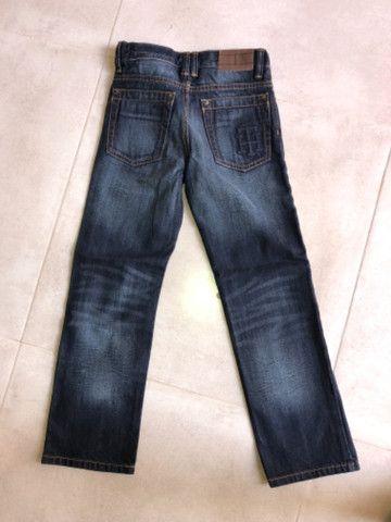 Vendo 2 calças jeans Nova Infantil - Gap e Tommy - Foto 2