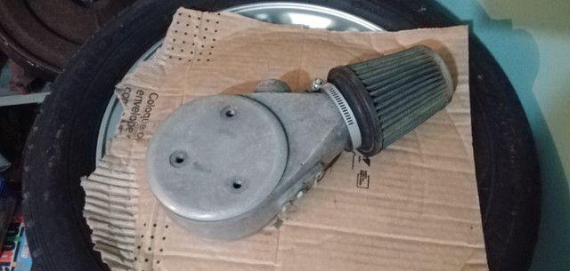 Carburador 3e, h30 34 BLFA, miniprogressivo. Coletor chevette, mufla - Foto 7