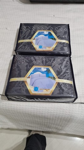 Cama completa com jogo de lençóis  - Foto 5