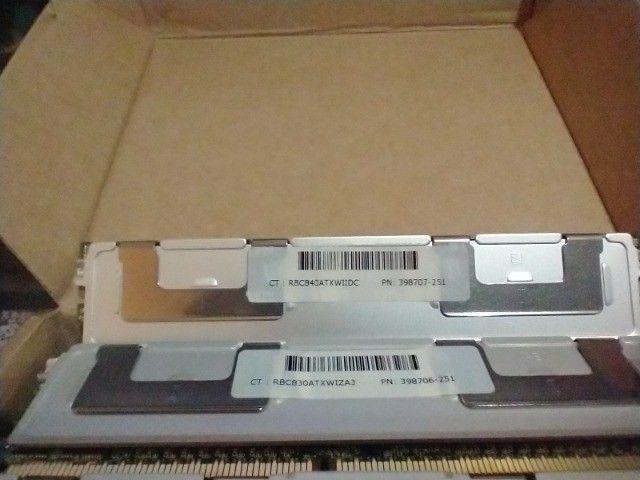 Memórias para servidor DDR2 1GB e 2 GB com dissipador - Foto 2