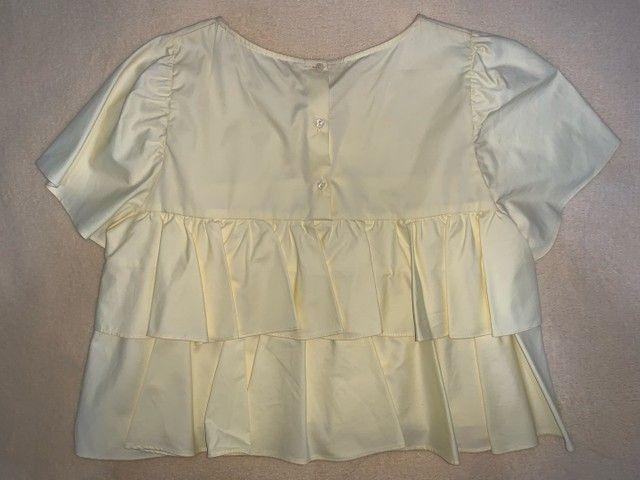Blusa cropped Zara - Foto 2