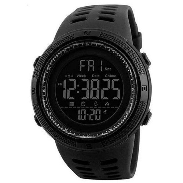 Relógio Masculino Skmei 1251 Preto 5ATM Original