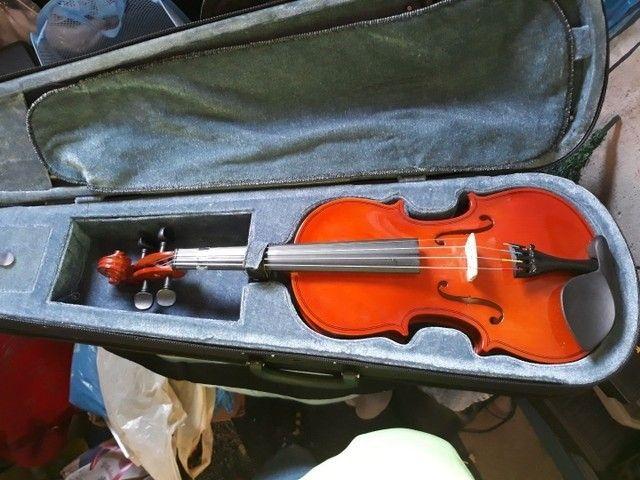 violino 4/4 completo com case