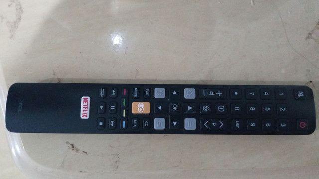 Vendo tv tcl 50 polegadas 4k nova pouco tempo de uso  - Foto 4