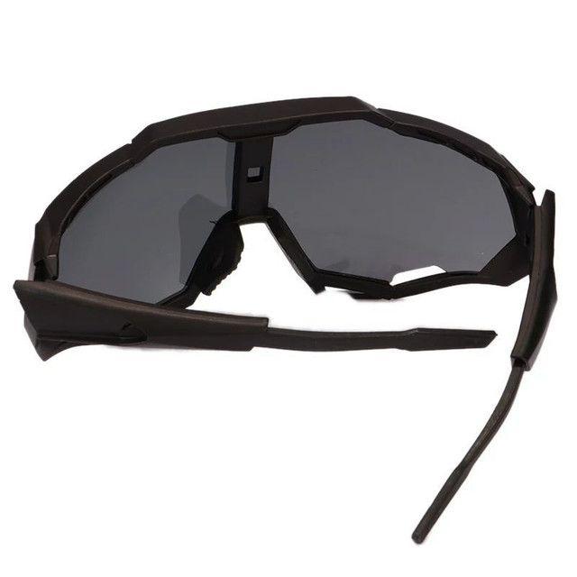 Óculos ciclismo proteção UV400 - Foto 3