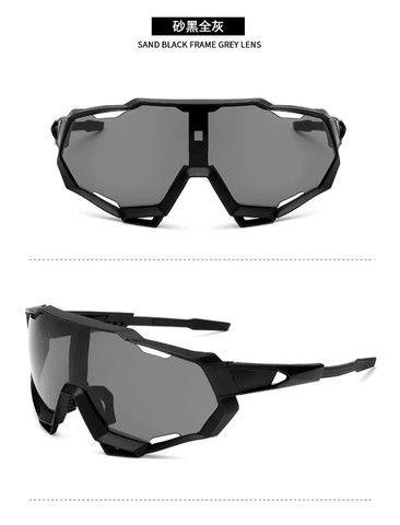 Óculos ciclismo proteção UV400 - Foto 4