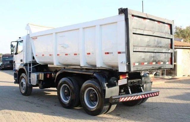 Caminhão MB 3131 6×4 Caçamba Basculante - Foto 10