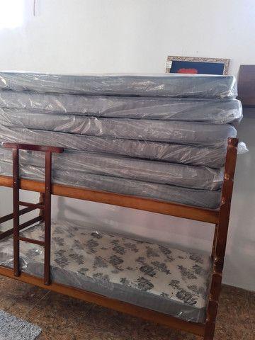 Beliches novas madeira maciça em promoção  - Foto 3