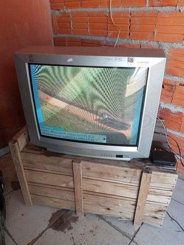 Televisao tubo com conversor 29 pol