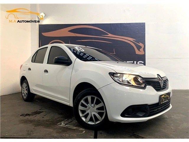 Novíssimo! Renault Logan 1.0 12v Flex Authenique Manual 2019 (+pequena entrada)  - Foto 3