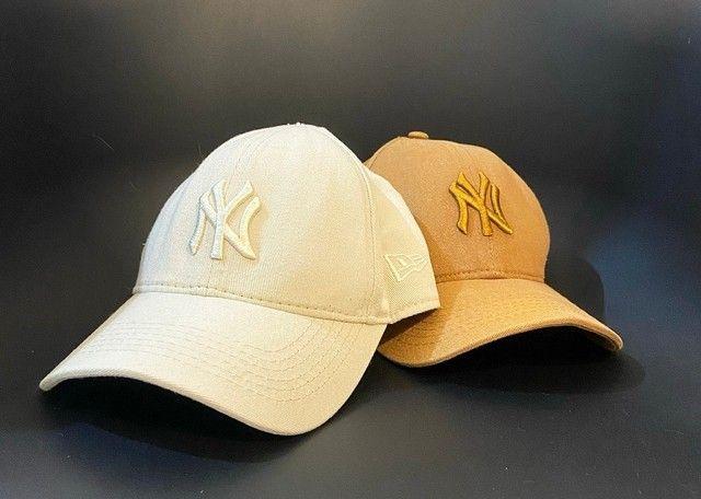 Par de Bonés New York Yankees