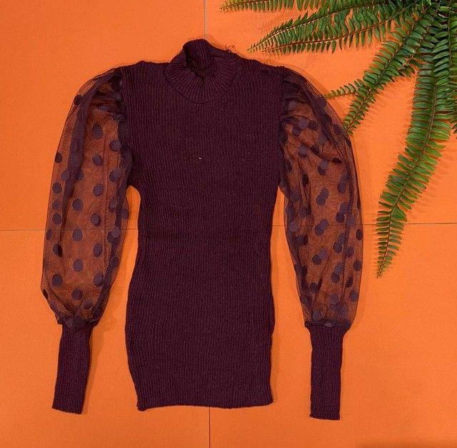 Blusa em tricot - Foto 4