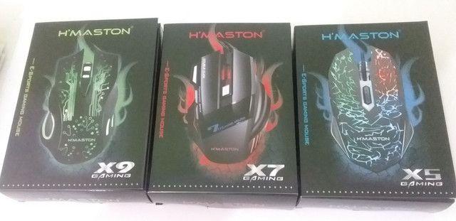 Mouse Gamer X5 (Entrega Domiciliar Grátis) - Foto 2