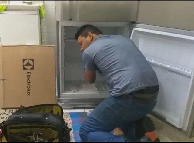 Técnico Conserto Geladeira Maquina de Lavar Freezer  ( Orçamento Grátis)
