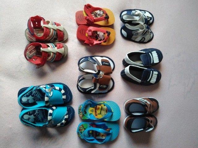 Sapatinhos e Sandálias para bebê até 1 ano e 6 meses - Foto 2