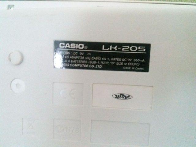 Casio LK-205 MODELO JAPONÊS  - Foto 2