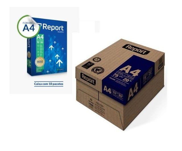 Papel Sulfite A4 Report Premium - Foto 2