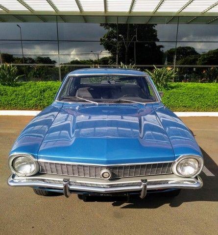 Ford Maverick 4 Portas Azul 1975 Original, 3º Dono, Raridade - Foto 4