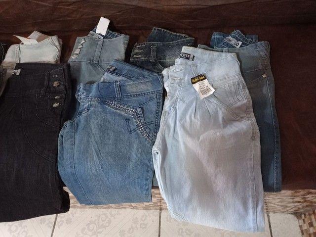 Calça jeans e shorts jeans feminina - Foto 5