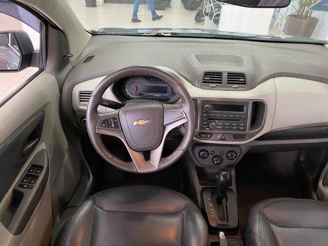 Chevrolet Spin Lt 1.8 Automática 2014 Cinza - Foto 8