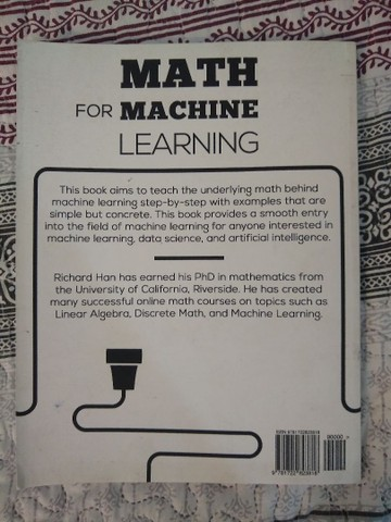 Math for Machine Learning  - Foto 2
